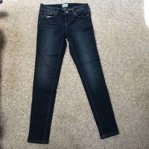 Medium/Dark wash Aeropostale skinny jean